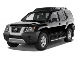 2011 Nissan Xterra 4WD 4-door Auto S Angular Front Exterior View