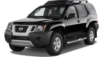 2011 Nissan Xterra 4WD 4-door Auto S Angular Front Exterior View