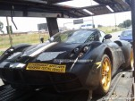 2011 Pagani C9 spy shots
