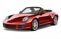 2011 Porsche 911 2-door Cabriolet Carrera 4S Angular Front Exterior View