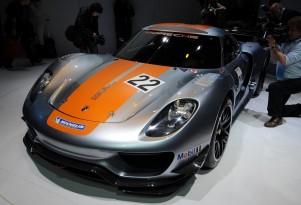 2011 Porsche 918 RSR Concept. Photo by Joe Nuxoll.