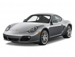 2011 Porsche Cayman 2-door Coupe S Angular Front Exterior View