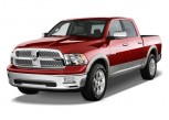 2011 Ram 1500 2WD Crew Cab 140.5&quot; Laramie Angular Front Exterior View