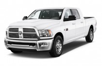 "2011 Ram 2500 2WD Mega Cab 160.5"" SLT Angular Front Exterior View"