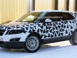 2011 Saab 9-4X crossover spy shots
