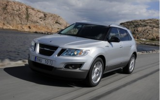 2011 Saab 9-4X Earns IIHS Top Safety Pick
