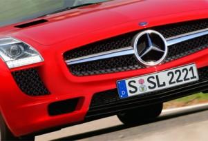 2011 SLS AMG preview rendering