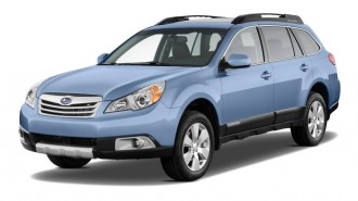 2011 Subaru Outback 4-door Wagon H4 Auto 2.5i Limited Angular Front Exterior View