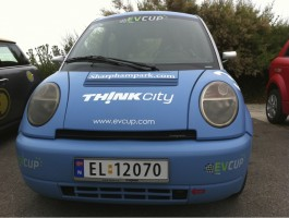 2011 Think City EV Race spec