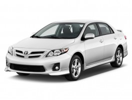 2011 Toyota Corolla 4-door Sedan Auto S (Natl) Angular Front Exterior View