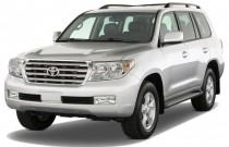 2011 Toyota Land Cruiser 4-door 4WD (GS) Angular Front Exterior View