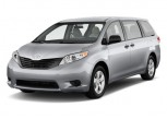 2011 Toyota Sienna 5dr 7-Pass Van V6 FWD (Natl) Angular Front Exterior View