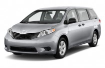 2011 Toyota Sienna 5dr 7-Pass Van V6 FWD (Natl) Angular Front Exterior View