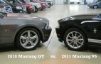 Video: 2010 Mustang GT vs. 2011 Mustang V-6, Who wins?
