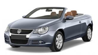 2011 Volkswagen Eos 2-door Convertible Lux SULEV Angular Front Exterior View