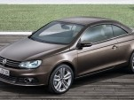 2012 Volkswagen Eos Surfaces Before L.A. Show Debut