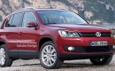 2011 Volkswagen Tiguan facelift rendering