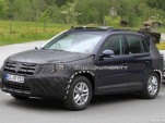 2011 Volkswagen Tiguan facelift spy shots