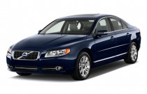 2011 Volvo S80 4-door Sedan 3.2L FWD Angular Front Exterior View