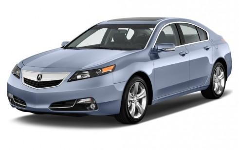 2012 Acura TL 4-door Sedan 2WD Advance Angular Front Exterior View