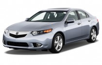 2012 Acura TSX 4-door Sedan I4 Auto Angular Front Exterior View