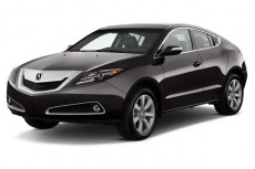 2012 Acura ZDX AWD 4-door Advance Pkg Angular Front Exterior View