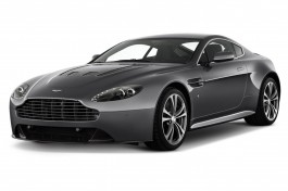 2012 Aston Martin V12 Vantage 2-door Coupe Man Angular Front Exterior View