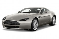 2012 Aston Martin V8 Vantage 2-door Coupe Sportshift Angular Front Exterior View