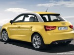 2012 Audi A1 Sportback rendering