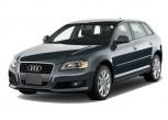 2012 Audi A3 4-door HB S tronic FrontTrak 2.0T Premium Angular Front Exterior View