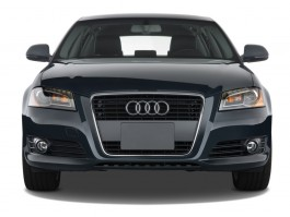 2012 Audi A3 4-door HB S tronic FrontTrak 2.0T Premium Front Exterior View