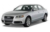2012 Audi A4 4-door Sedan CVT FrontTrak 2.0T Premium Angular Front Exterior View