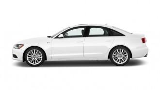2012 Audi A6 4-door Sedan FrontTrak 2.0T Premium Plus Side Exterior View