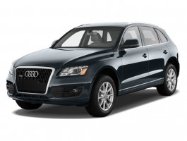 2012 Audi Q5 quattro 4-door 2.0T Premium Plus Angular Front Exterior View