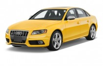 2012 Audi S4 4-door Sedan S Tronic Premium Plus Angular Front Exterior View