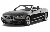 2012 Audi S5 2-door Cabriolet Premium Plus Angular Front Exterior View