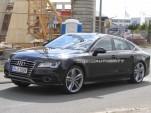 2012 Audi S7 Sportback spy shots