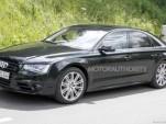 2012 Audi S8 spy shots