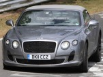 2012 Bentley Continental GTC facelift spy shots