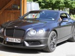 2012 Bentley Continental GTC Speed facelift spy shots