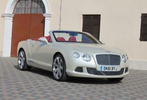 2012 Bentley Continental GTC. Photo copyright Marty Padgett 2011.