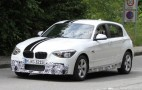 2012 BMW 1-Series Hatchback M Sport Package Spy Shots