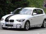 2012 BMW 1-Series Hatchback M Sport Accessories spy shots