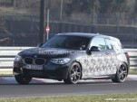 2012 BMW 135i three-door hatchback spy shots
