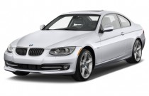2012 BMW 3-Series 2-door Coupe 335i RWD Angular Front Exterior View
