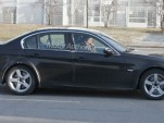 2012 BMW 3-Series test-mule spy shots