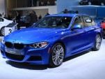 2012 BMW 335i live photos, 2012 Detroit Auto Show