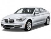 2012 BMW 5-Series Gran Turismo 4-door Sedan 550i Gran Turismo RWD Angular Front Exterior View
