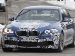 2012 BMW M5 spy shots