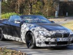 2012 BMW M6 Convertible spy shots
